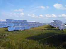 Erlasee Solar Park, Germany (photo from Wikipedia)