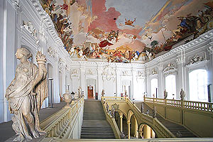Ceiling fresco in the Würzburg Residence (photo by germanplaces.com)