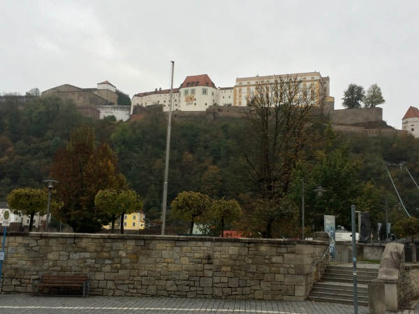 Another view of the Veste Oberhaus, 10-24-14