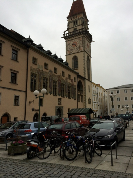 The Passau Rathaus (Town Hall), 10-24-14