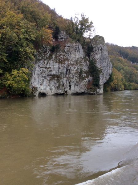 Rock formations in the Gorge, 10-23-14