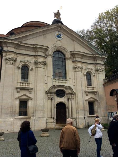 The Abbey church, 10-23-14
