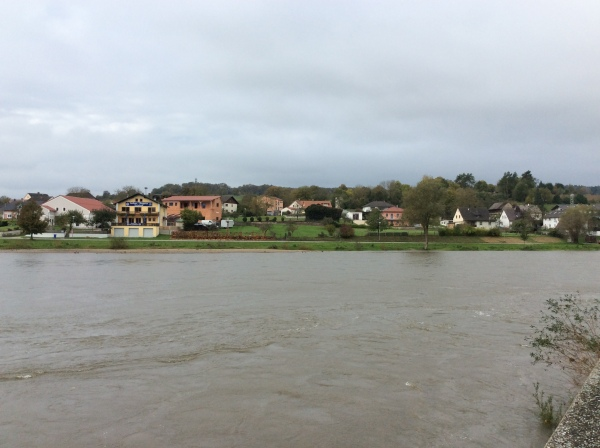 A small town on the other side of the river from the Abbey, 10-23-14