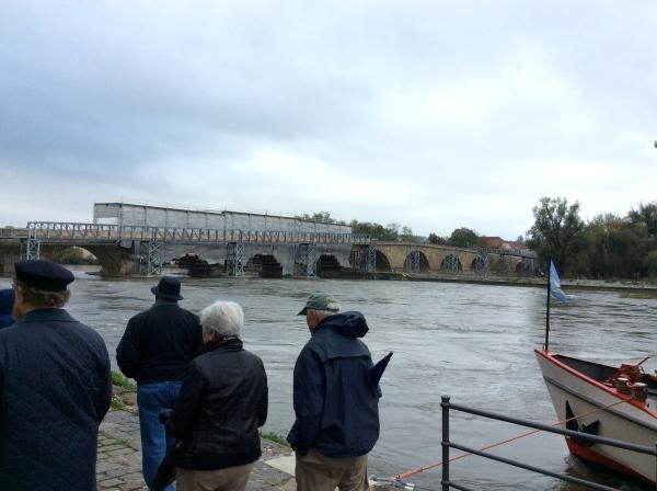 The Steinerne Brücke (Stone Bridge) of Regensburg, 10-23-14