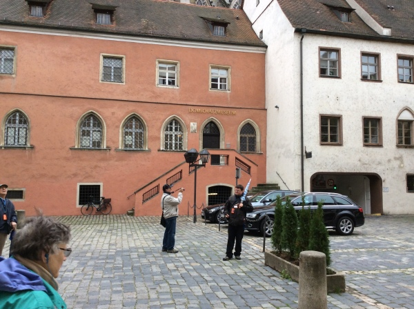 The Domschatzmuseum with the Cathedral behind, 10-23-14