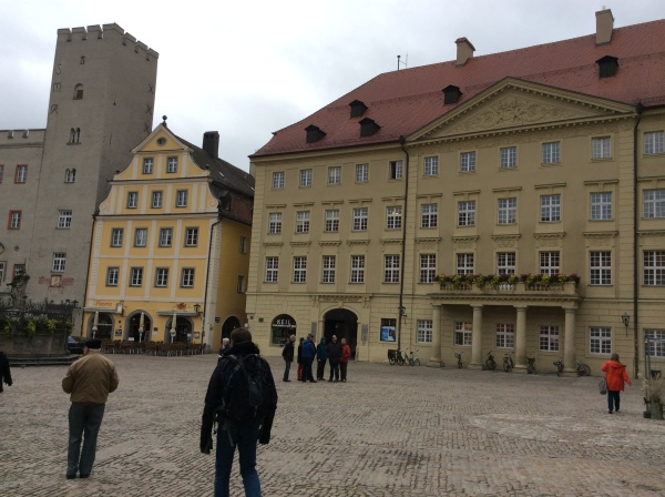 Entering Haidplatz Square, 10-23-14