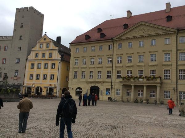 Entering Haidplatz Square, 10-23-14