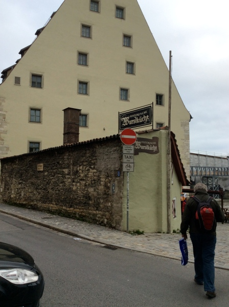 The rear side of the Historische Wurstküche, 10-23-14