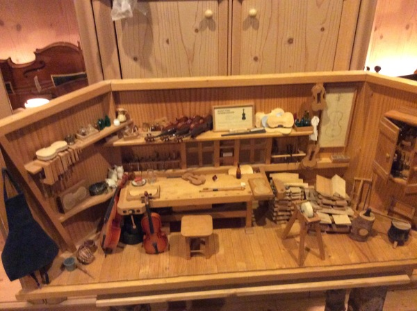A model of the violin workshop, 10-23-14
