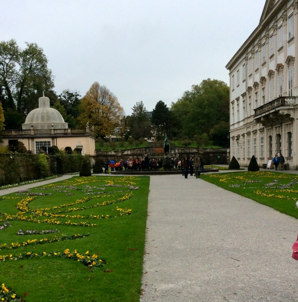 The fountain shown in The Sound of Music, 10-24-14