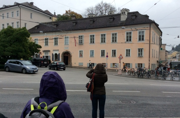 Marketplatz 8, the home of Mozart & his family from 1773 to 1787, 10-24-14