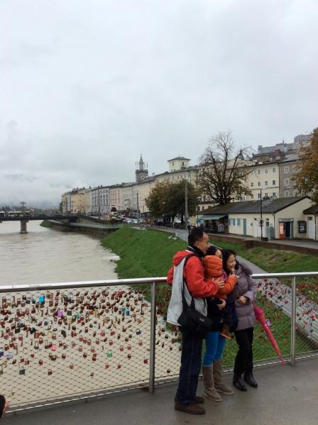 "The ""Locks of Love Bridge"" (Staatsbrücke), 10-24-14"