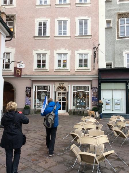 The 2nd Fürst Konditorei, where I bought my Mozartkugels, 10-24-14