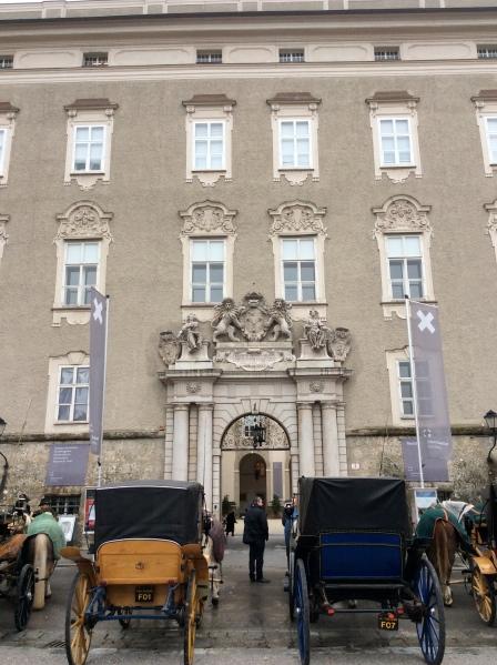 The Archbishop's Palace (Residenz) in Residenzplatz, 10-24-14