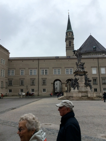 Outside the Cathedral in the Domplatz, 10-24-14