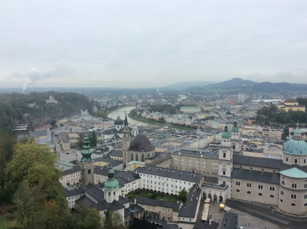 Gorgeous views from the castle, 10-24-14