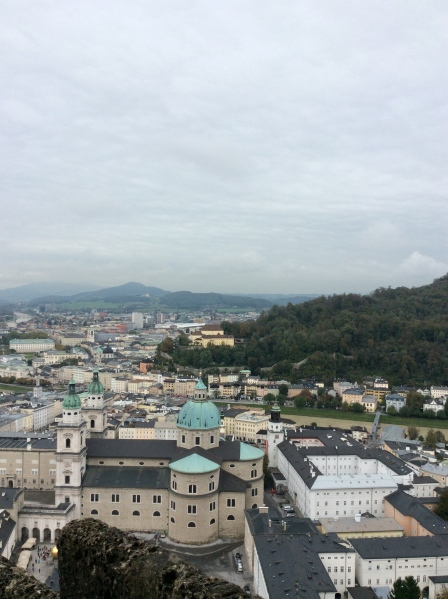 View of the Cathedral from the castle, 10-24-14