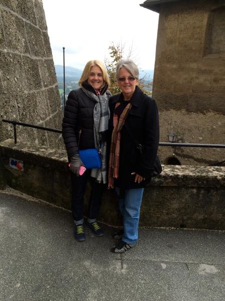 Susan and Sue (Sue's photo), 10-24-14