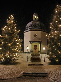 "The ""Silent Night"" Museum Chapel in Oberndorf, (photo from Wikipedia)"