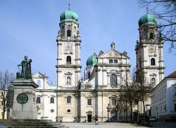 St. Stephen's Cathedral, (photos from Wikipedia)