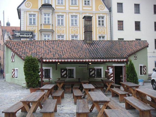 The Historische Wurstküche, (photo from wikipedia.org)