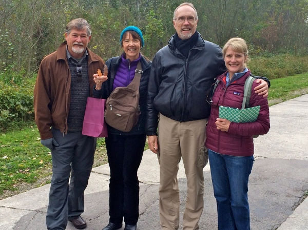 Fox, Lois, Bill G., & Dallas (10-25-14)