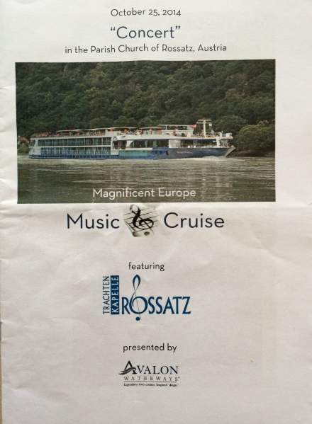 Here is my concert program (10-25-14)