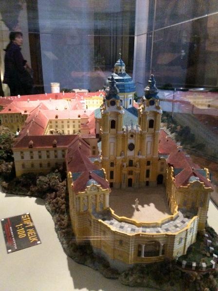 A model of the Melk Abbey (10-25-14)
