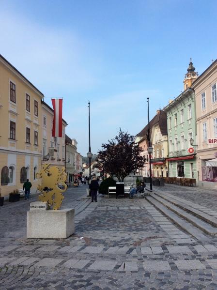 The main street in Melk (10-25-14)