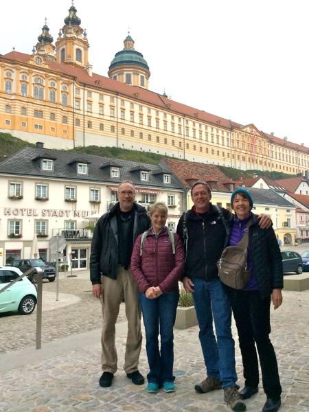 Bill G., Dallas, Bill, & Lois in Melk (10-25-14)