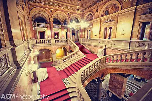 The grand staircase, where we listened to the opera singer (stationed above center left) & drank our mimosas (photo from cheeseweb.eu,