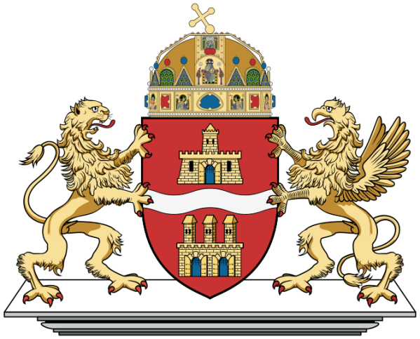 The Budapest Coat of Arms (from Wikipedia)