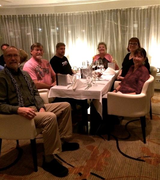 Bill G., Fox, Dom, Ann, Sam, & Lois (10-26-14)