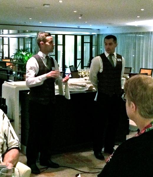 Tiago and Sever, Bistro Dinner servers & all-around nice guys (10-26-14)