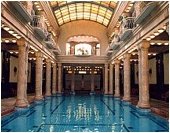 One of the pools inside Gellért Spa (photo from gellertbath.com)