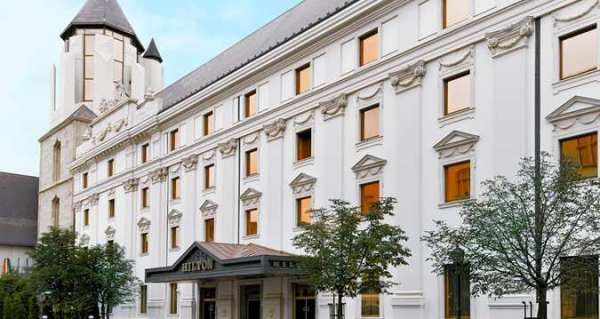 The Hilton Budapest, where we stayed (photo from hilton.com)