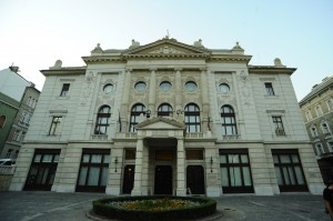 The Budai Vigadó concert hall where the show was held (photo from hungarianfolk.com)