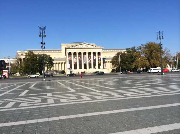 The Museum of Fine Arts across the Square (10-28-14)