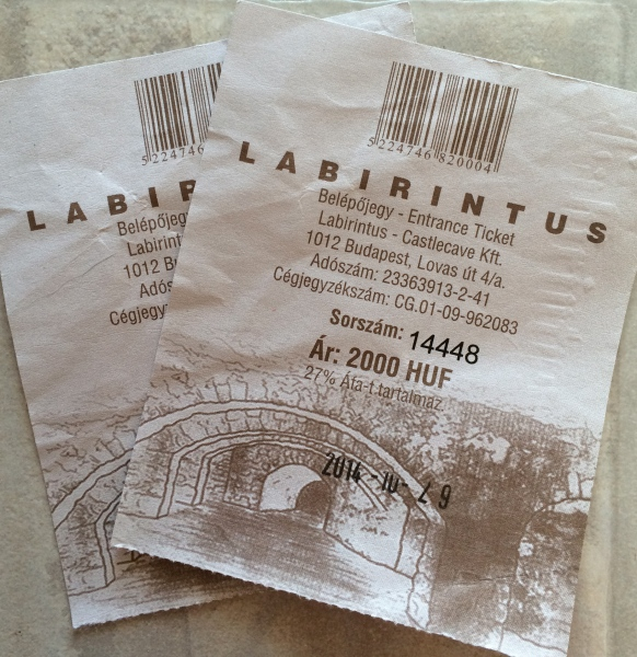 Our tickets (10-29-14)