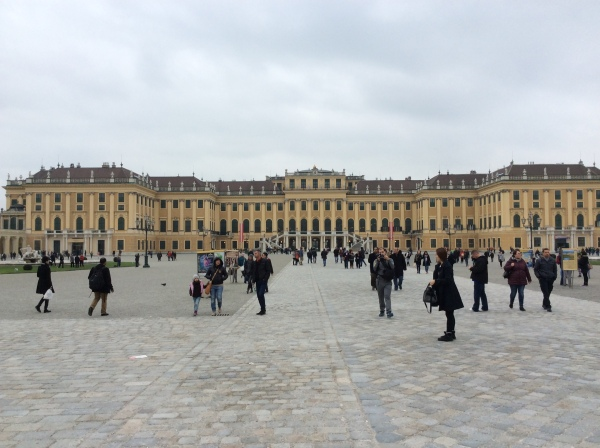 A first look at Schönbrunn Palace (10-26-14)