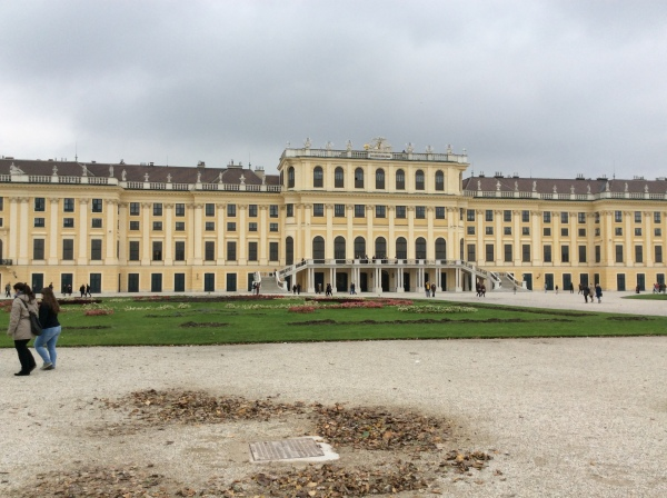 A view of the back of the Palace, (10-26-14)