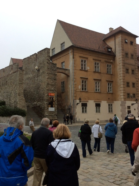 Another view of the old city wall near the Cathedral (10-27-14)