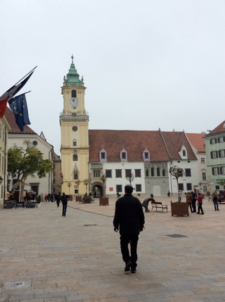 The Old Town Hall in Hlavne Namestie Square (10-27-14)