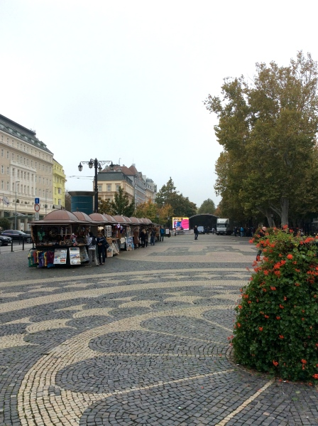 Another market area in Hviezdoslav Square, (10-27-14)
