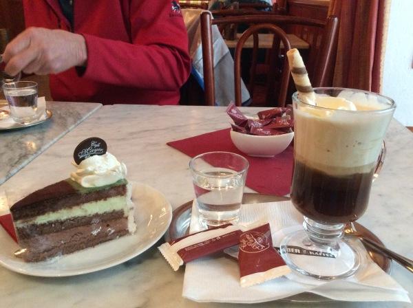 My cake and coffee (10-27-14)