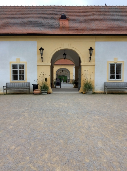 The front gate area of Schloss Hof (10-27-14)