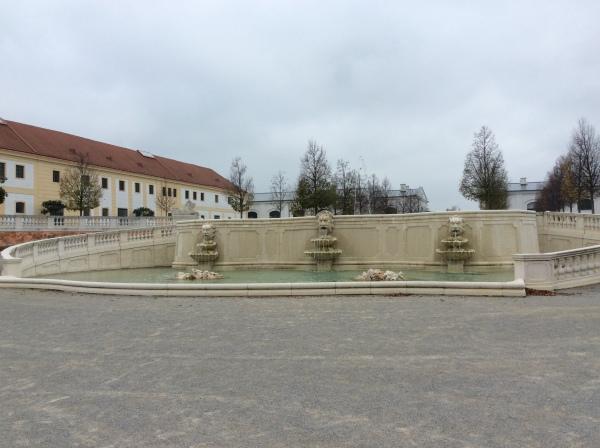 The Neptune Fountain at Schloss Hof, (10-27-14)
