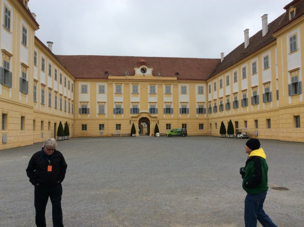 The palace and courtyard, (10-27-14)