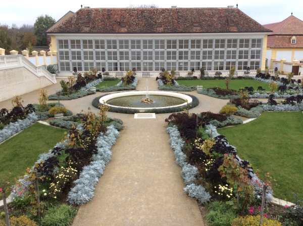 Another beautiful garden at Schloss Hof (10-27-14)