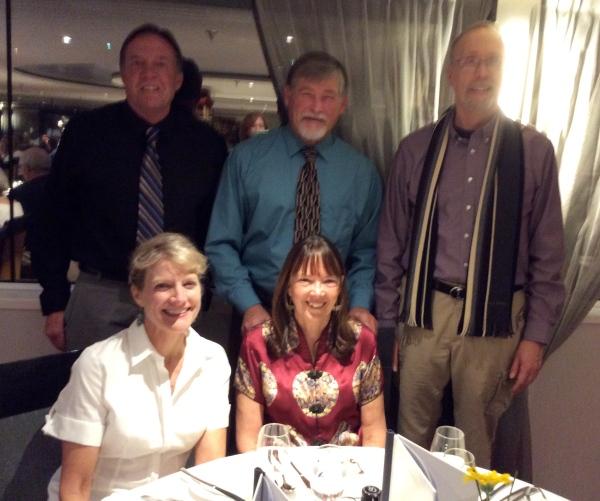 Bill, Fox, Bill G., Dallas, & Lois in the dining room, (10-27-14)